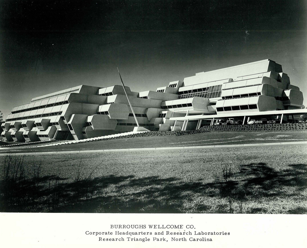 Paul Rudolph's Burroughs Wellcome building